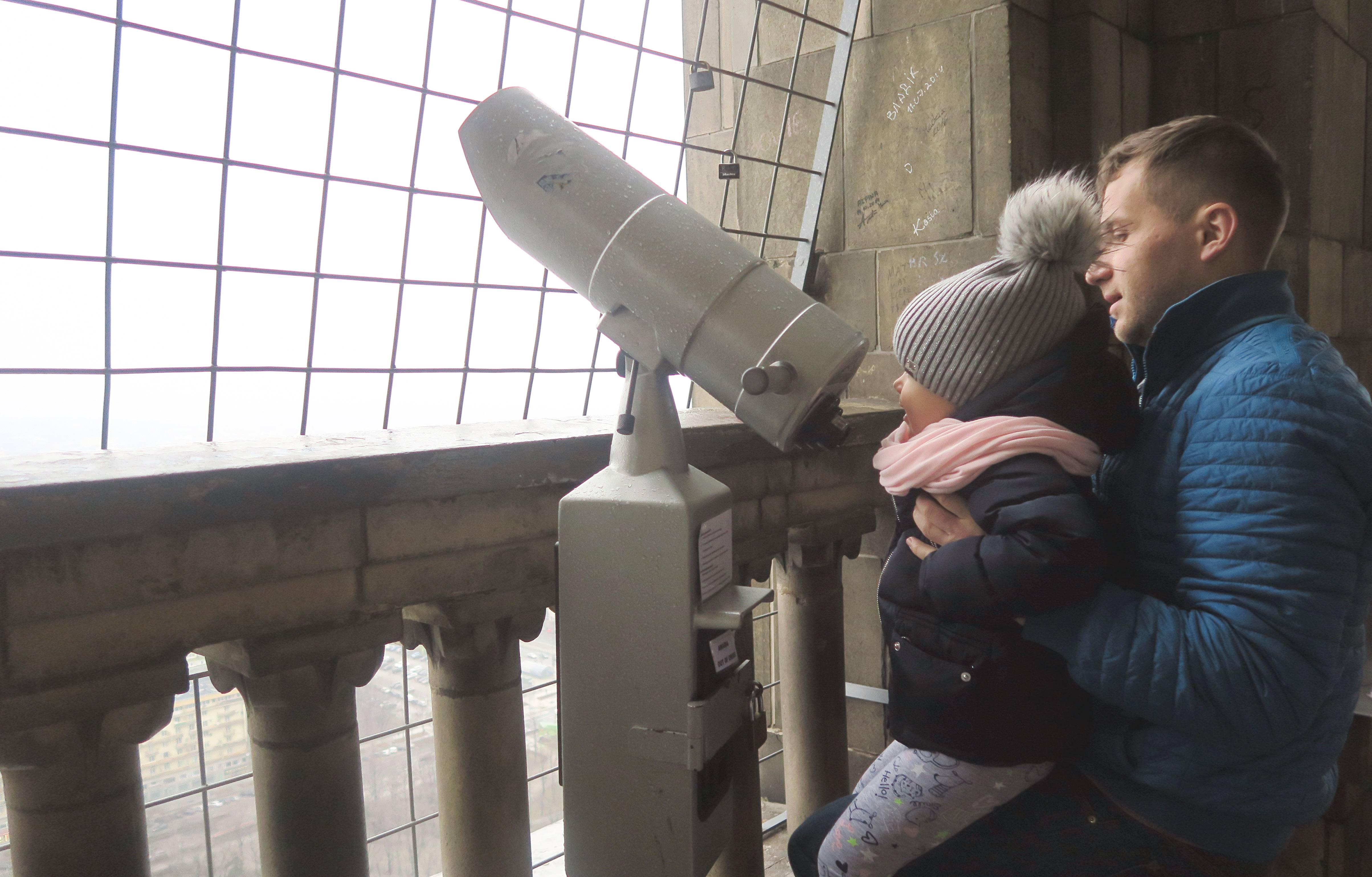 warszawa z dziecmi