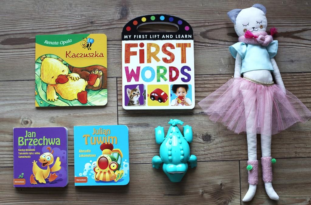 zabawki na podróż z dzieckiem
