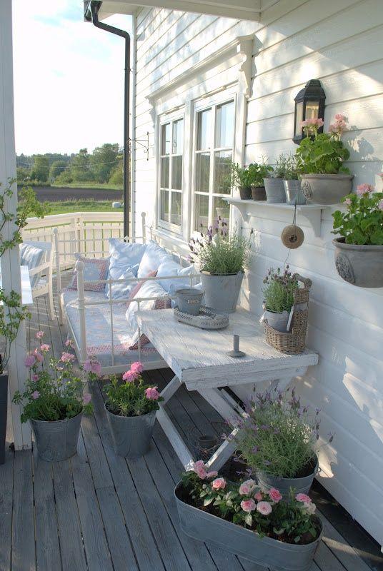 aranżacja balkonów
