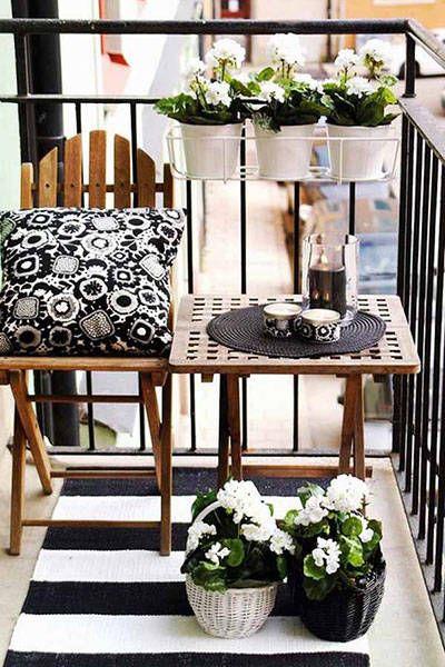 pomysły na aranżację balkonów