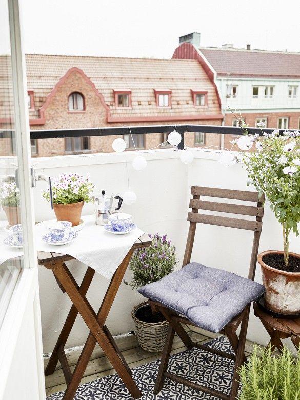 pomysły na aranżację balkonu