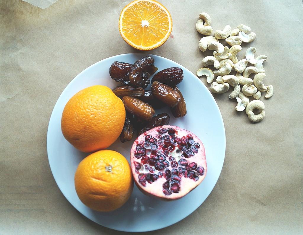 pyszna sałatka z pomarańczy