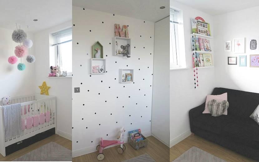 jak urządzić mały pokój dla dziewczynki