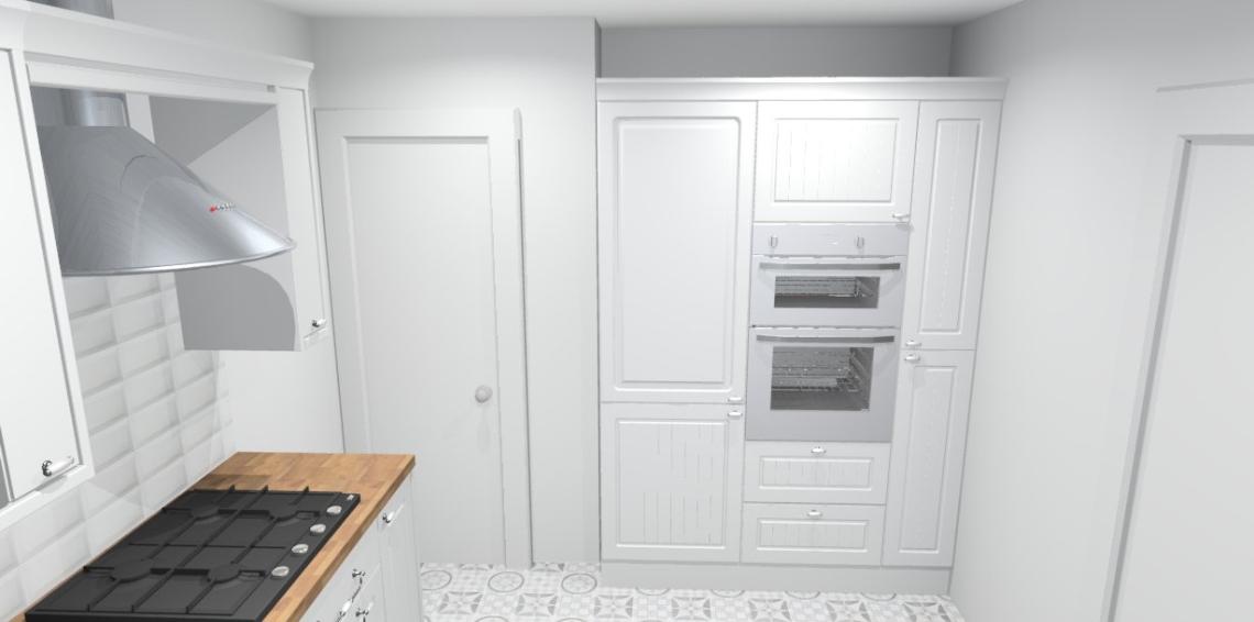 BiaŁa kuchnia – wstępny projekt naszego królestwa -> Biala Kuchnia Drewniany Stól