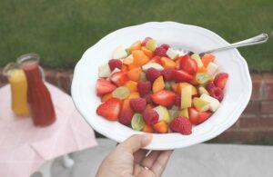 blog parentingowy owocowa salatka