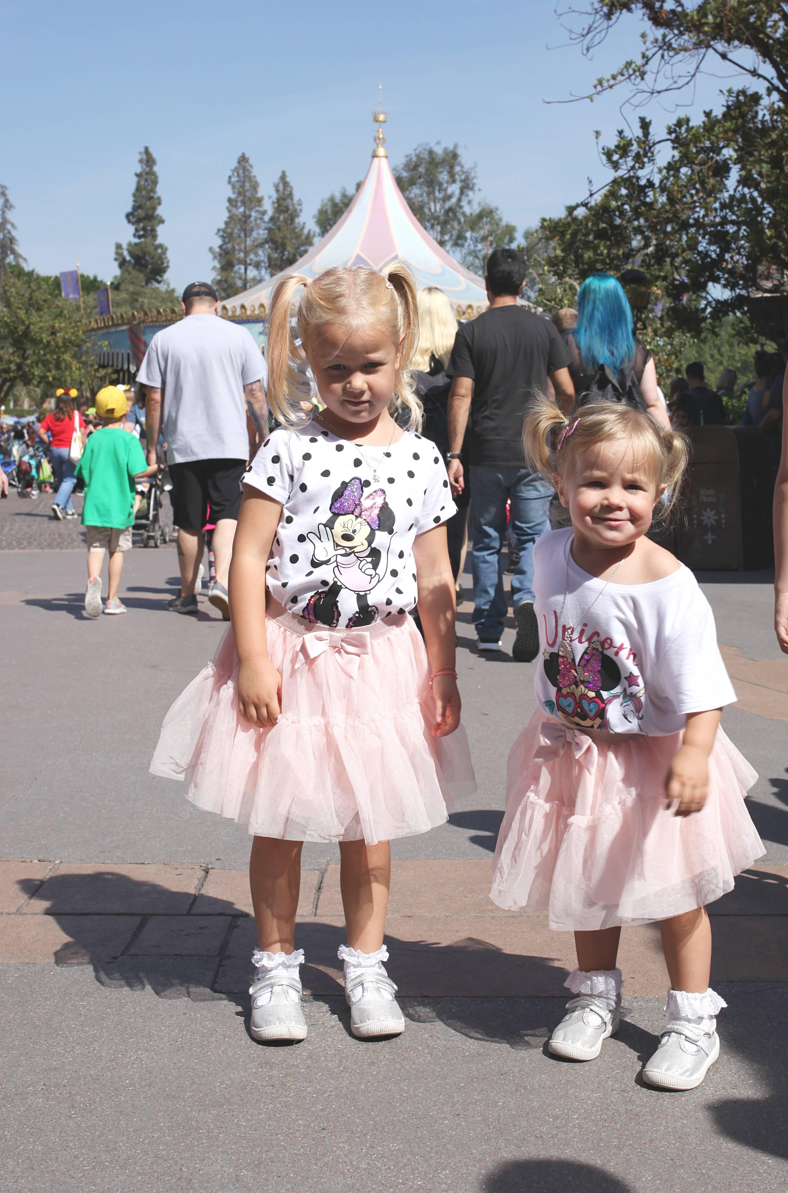 Stylizacje do Disneylandu