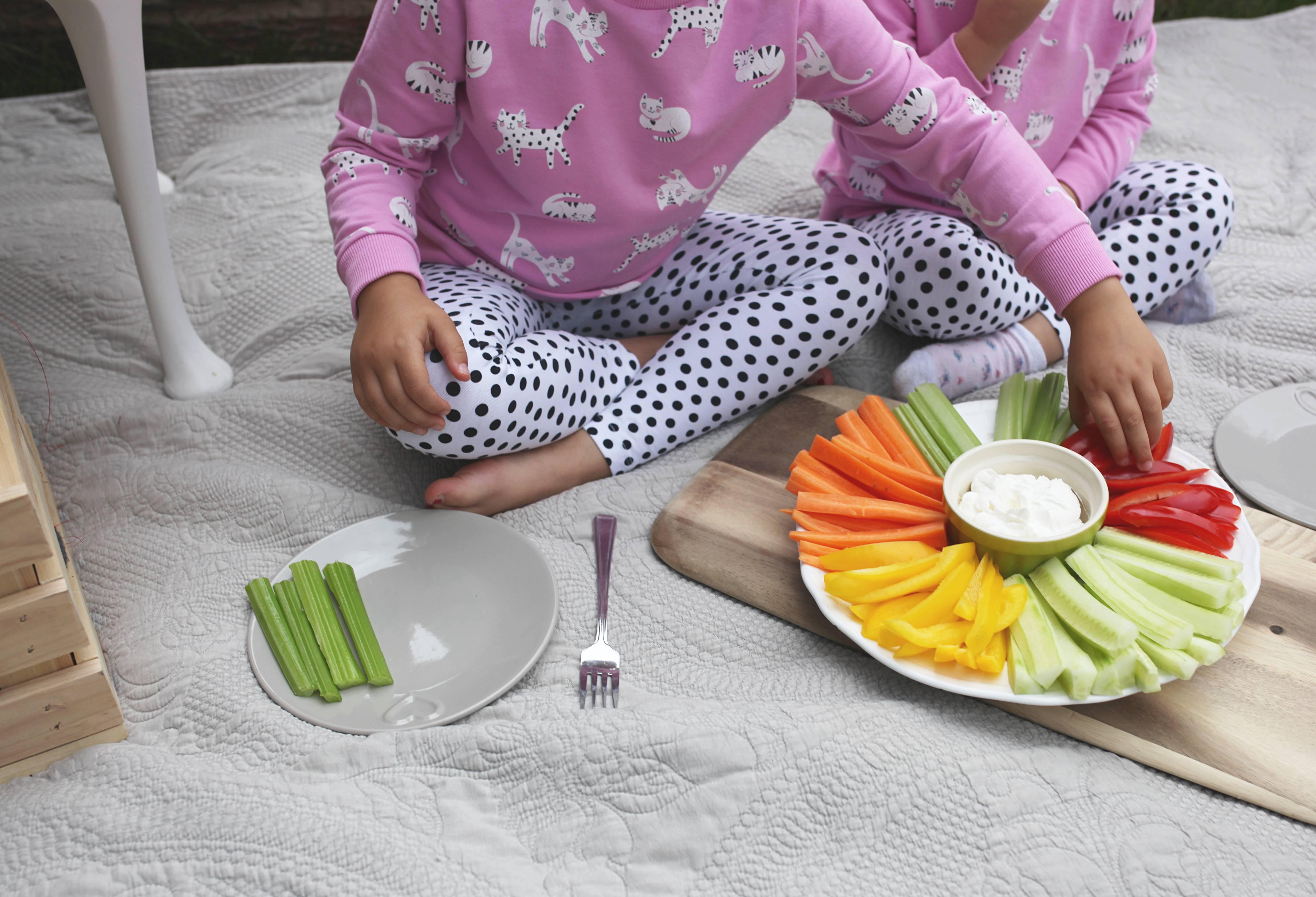 zdrowe przekaski dla dzieci