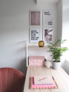 małe domowe biuro