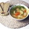 Lekka zupa rybna, idealna na jesień!