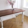 Metamorfoza drewnianego stołu - efekt przed i po!